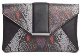 INC International Concepts Inc Luci Python-Embossed Envelope Clutch, Created for Macy's