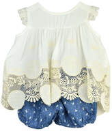 cesar blanco Blue Bird Outfit Set