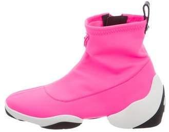 Giuseppe Zanotti Light Jump Neoprene Sneakers