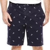 Izod Beachtown Flat-Front Shorts - Big & Tall