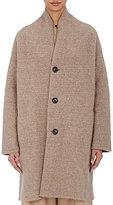 Pas De Calais Women's Stockinette-Stitched Coat-BEIGE, TAN