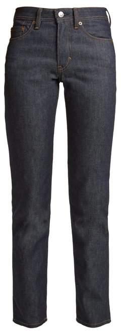 Acne Studios Blå Konst South mid-rise straight-leg jeans
