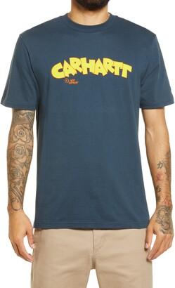 Carhartt Work In Progress Men's Loony Script Graphic Tee