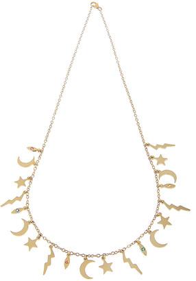 Andrea Fohrman 14k Multi-Element Necklace