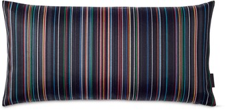 Design Within Reach Maharam Pillow in Narrow Sequential Stripes
