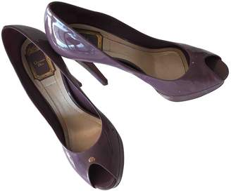 Christian Dior Purple Patent leather Heels
