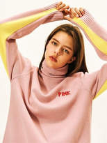 [UNISEX] AW17 Pink Panther PP Turtleneck Knit Pink