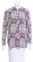 Rebecca Minkoff Silk Oversize Top