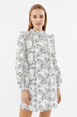 Coast Long Sleeve Broiderie Dress