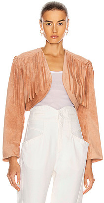 Isabel Marant Hill Jacket in Pink