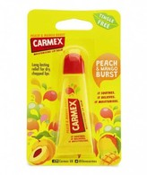 Carmex Peach and Mango Lip Balm 10g Tube