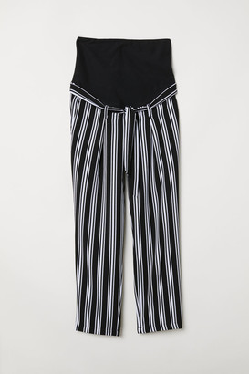 H&M MAMA Trousers with a tie belt
