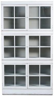 Sarreid Ltd. The White Belle Cabinet