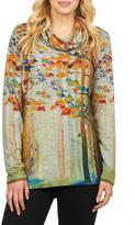 FDJ French Dressing Colorful Cowl Top