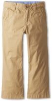 Lacoste Kids Cotton Gabardine Flat Front Chino (Little Kids/Big Kids)