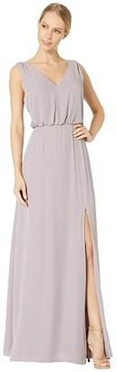 WAYF Bella Gown (Evening Haze) Women's Dress