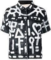 P.A.R.O.S.H. Mistic jacket - women - Cotton/Sheep Skin/Shearling - M