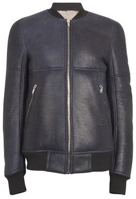 Rick Owens Shearling reversible jacket