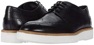 Clarks Ernest Limit (Black Leather) Men's Shoes
