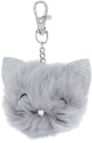 Accessorize Chloe Cat Pom Pom Bag Charm