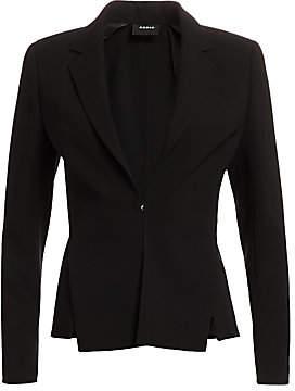 Akris Women's Slit Detail Wool Blazer