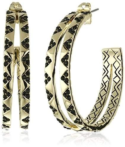 House Of Harlow Outland Split Hoop Earrings