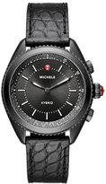 Michele 38mm Blackened Hybrid Smartwatch