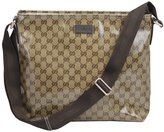 Gucci Outlet Chrystal Gg Coating Canvas Messenger Cross Body Bag 339569 FZI0G 9790
