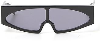Rick Owens Retro Futuristic Rectangle Sunglasses