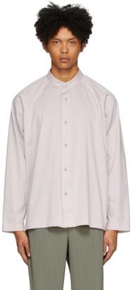 Homme Plissé Issey Miyake Pink Jersey Long Sleeve Shirt