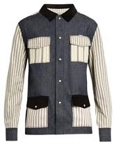 MAISON KITSUNÉ Kino patch-pocket denim shirt