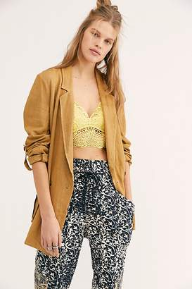 Free People Charly Blazer by Free People, Dirty Chai, XS
