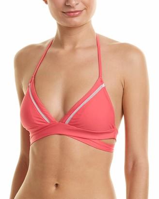 6 Shore Road by Pooja Women's La Playa Wrap Swimsuit Bikini Top