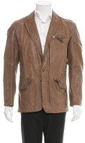 Diesel Distressed Leather Jacket