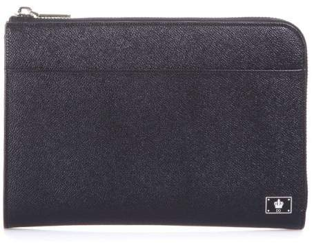 Dolce & Gabbana Dauphine Leather Tablet Case