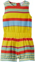 Little Marc Jacobs Romper Allover Striped (Toddler) - Multicolor-2A