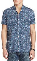 Polo Ralph Lauren Floral-Print Oxford Short-Sleeve Woven Shirt