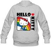 Wjj7c Hello Kitty Hoodies For Womens 100% Organic Cotton[ XL