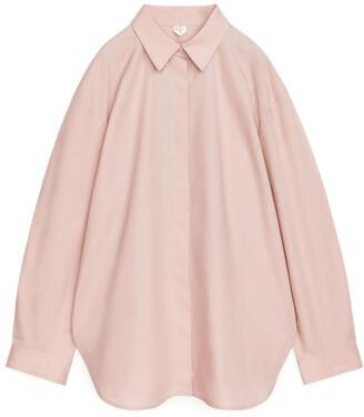 Arket Relaxed Poplin Shirt