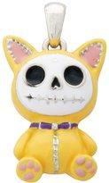 Summit Furry Bones Skull Yellow Cat Mao Mao Pendant Jewelry Accessory
