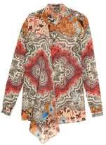 Etro Carpet-print silk-georgette blouse