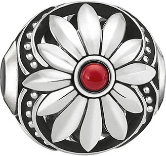 Thomas Sabo Ethnic Flower sterling silver karma bead