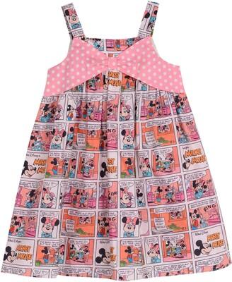 Pippa & Julie x Disney Minnie Comic Strip Graphic Dress