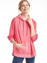 Gap French terry pullover hoodie
