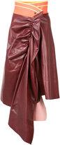 Martina Spetlova draped skirt