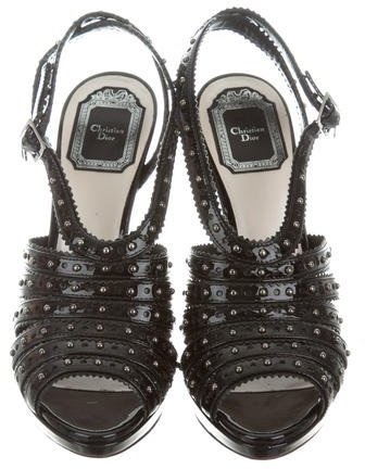 Christian Dior Bonnie Embellished Sandals