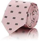 Balenciaga Men's BB Silk Twill Necktie