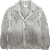 Il Gufo Tie Dye knit cardigan
