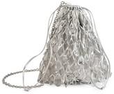 Prada Small Stone-Embellished Net Bag