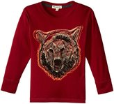 Appaman Grizzly Graphic Tee (Toddler/Kid) - Biking Red - 7